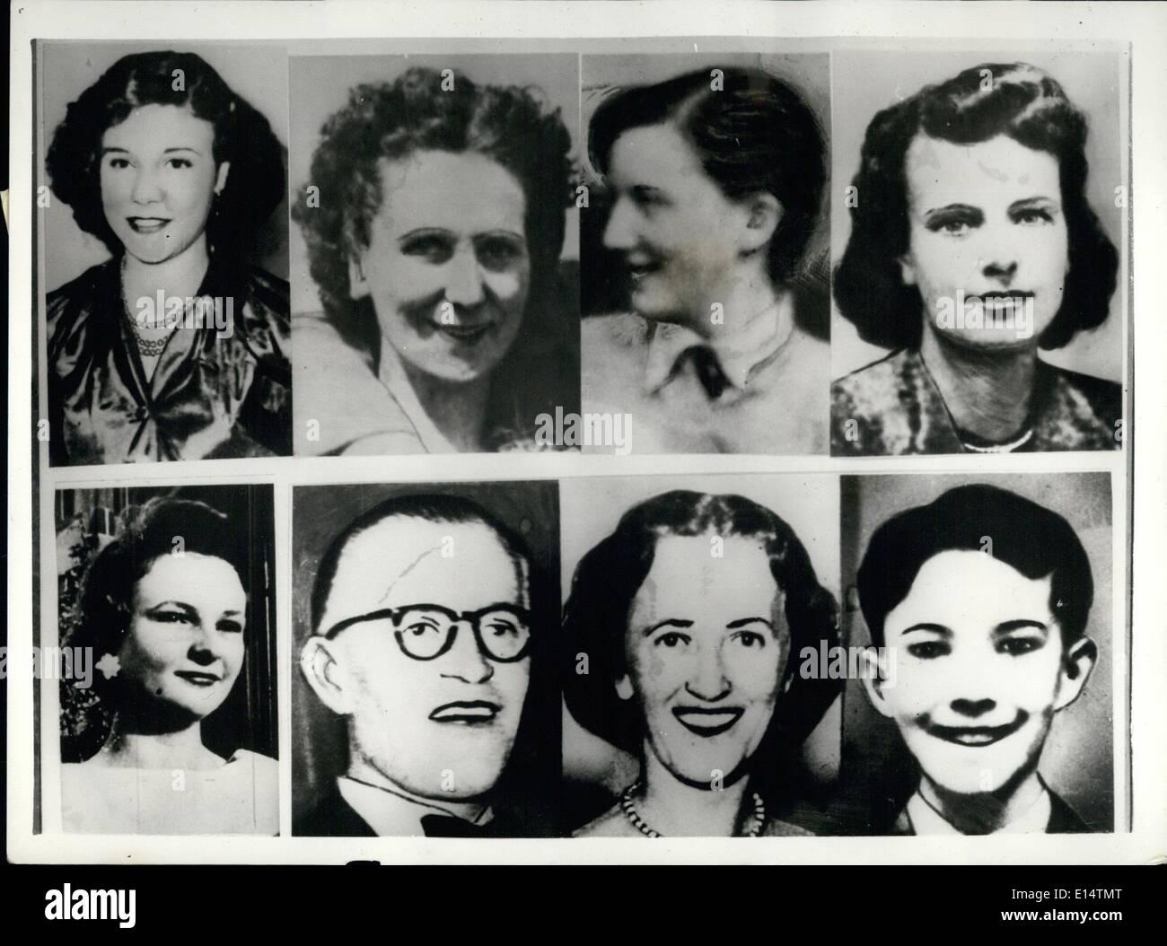 18. April 2012 - '' Testversion des Jahrhunderts ''. DREIßIG Jahre alten WOODWORKER GELADENEN mit acht Morde: Die Studie weiter auf Stockbild