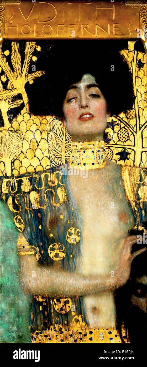 Judith von Gustav Klimt, 1901 Stockfoto