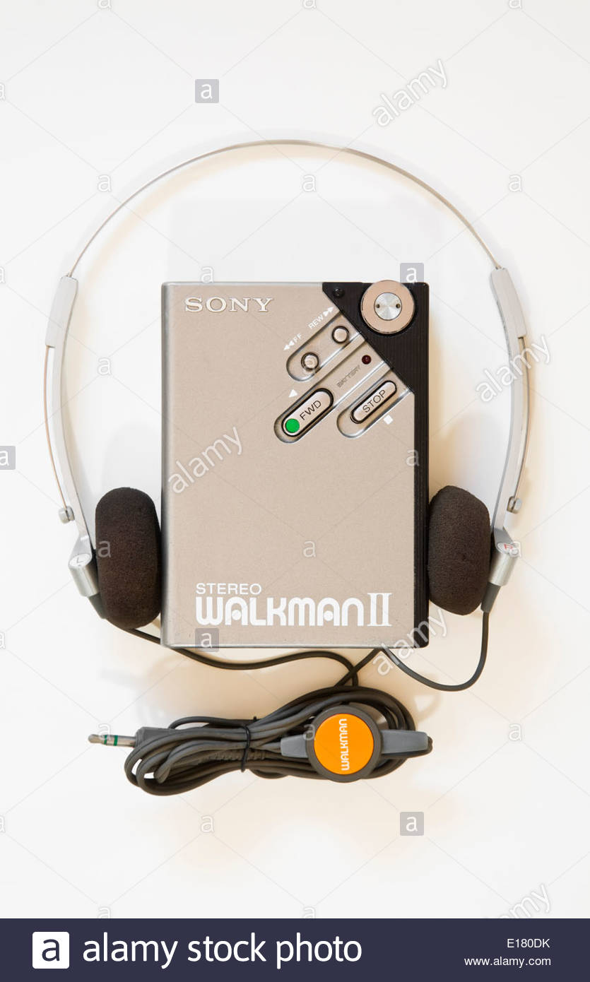 Cassette Player Headphones Stockfotos & Cassette Player Headphones ...