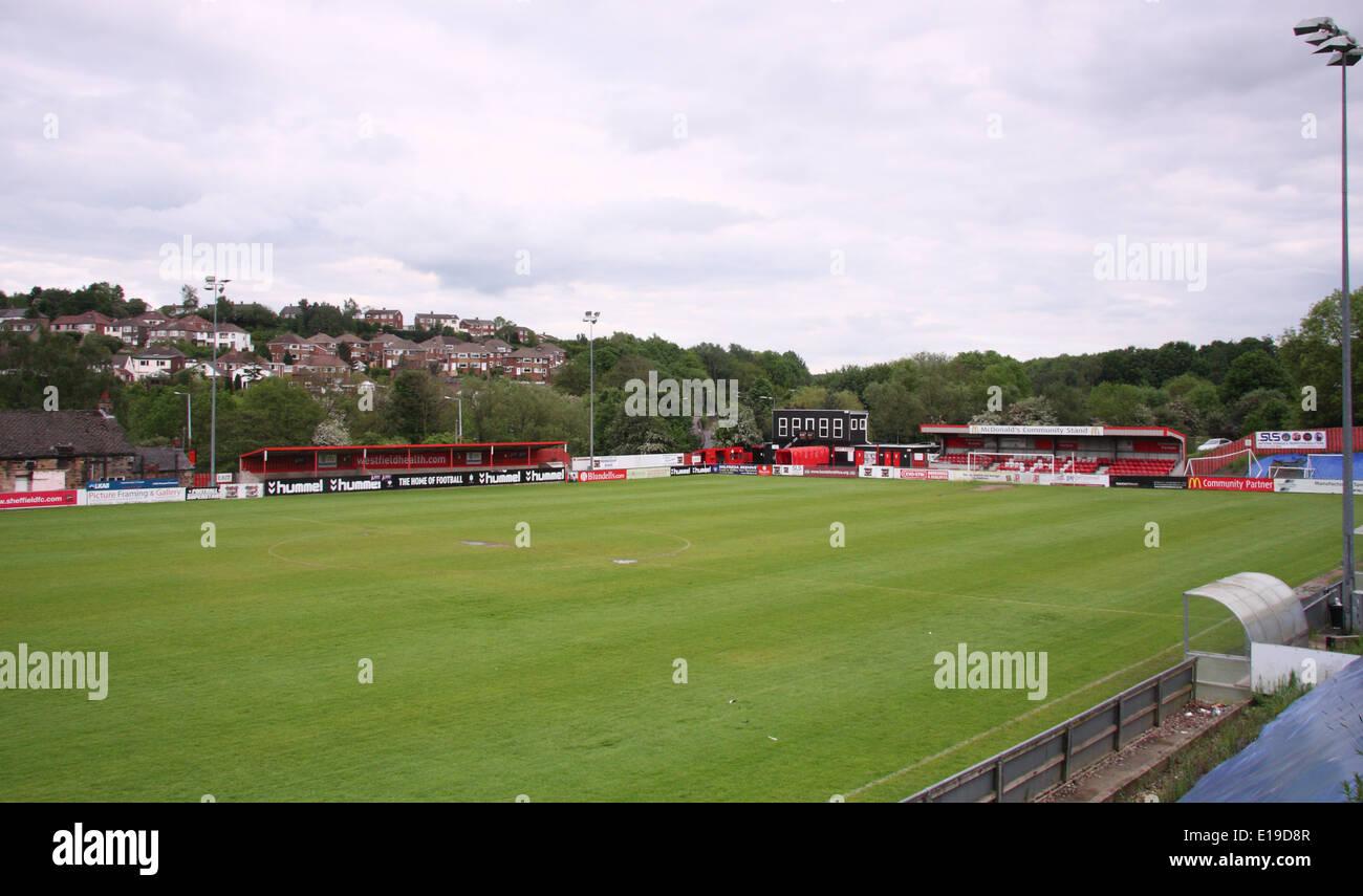 Sheffield Football Club Gemahlen Der Weltweit Erste Fussball