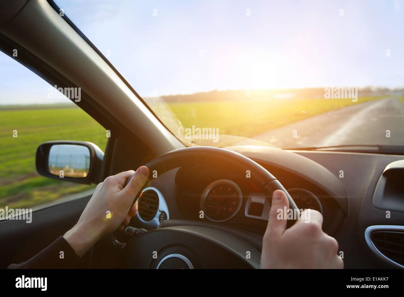 Road-trip Stockbild