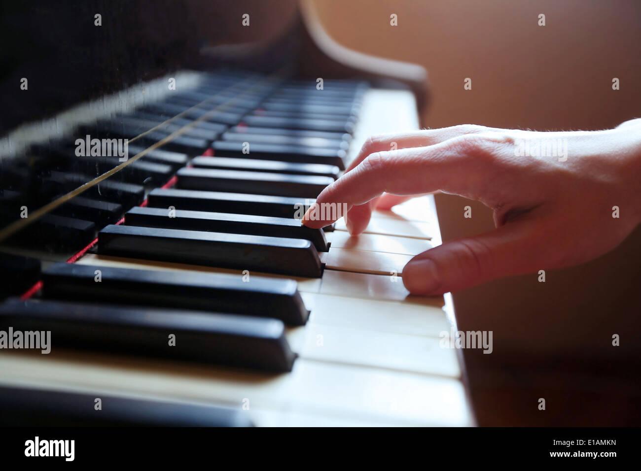 klassische Musik Stockbild