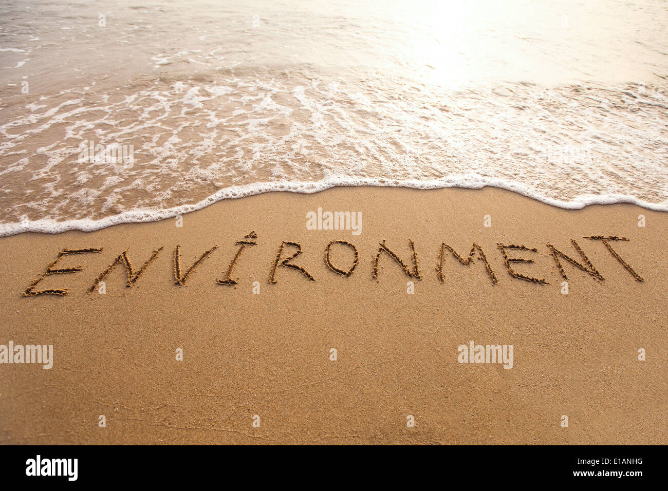 Umwelt-Konzept Stockbild
