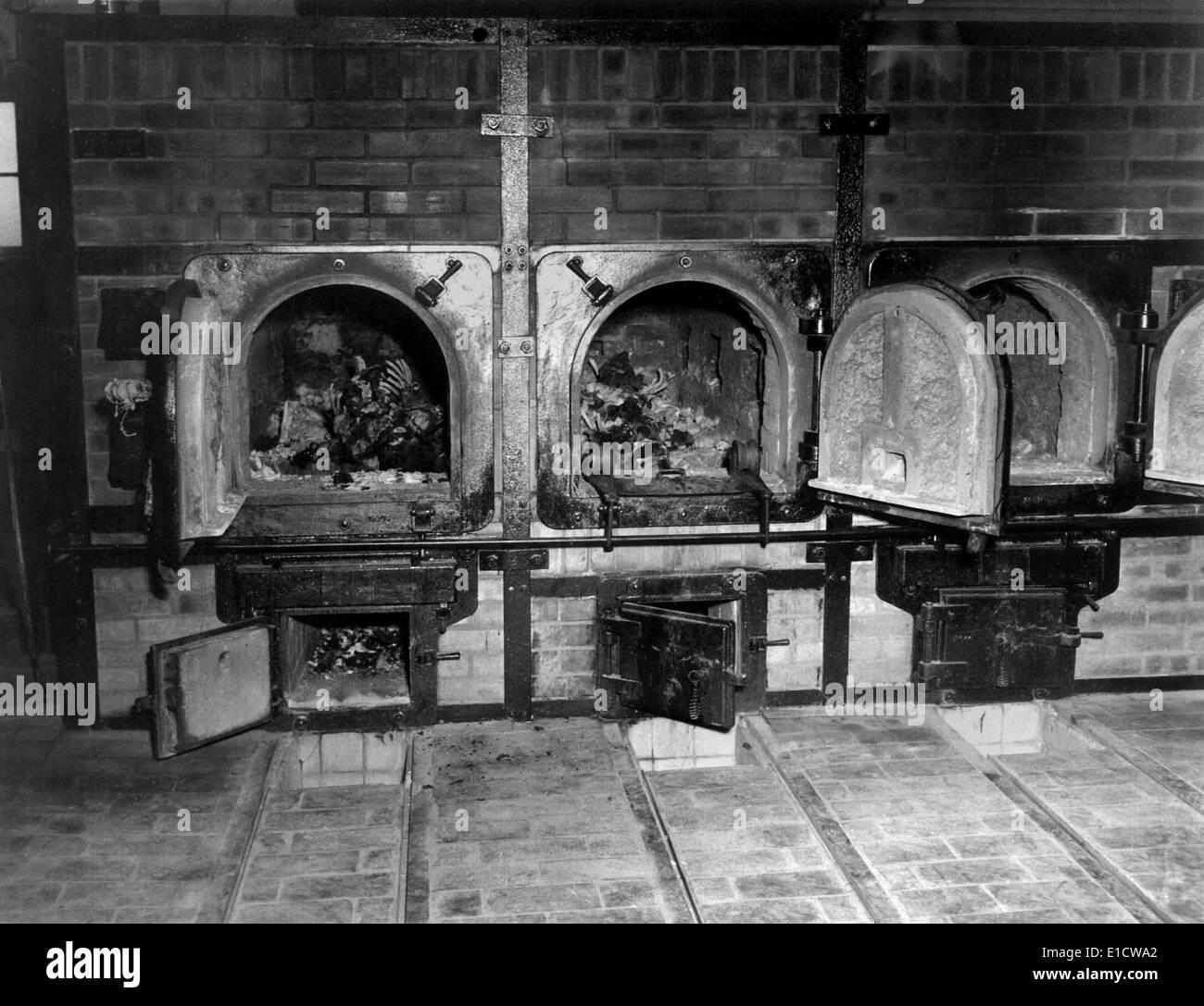 menschliche knochen im krematorium des kz buchenwald nach befreiung u s 3 us armee kam im. Black Bedroom Furniture Sets. Home Design Ideas