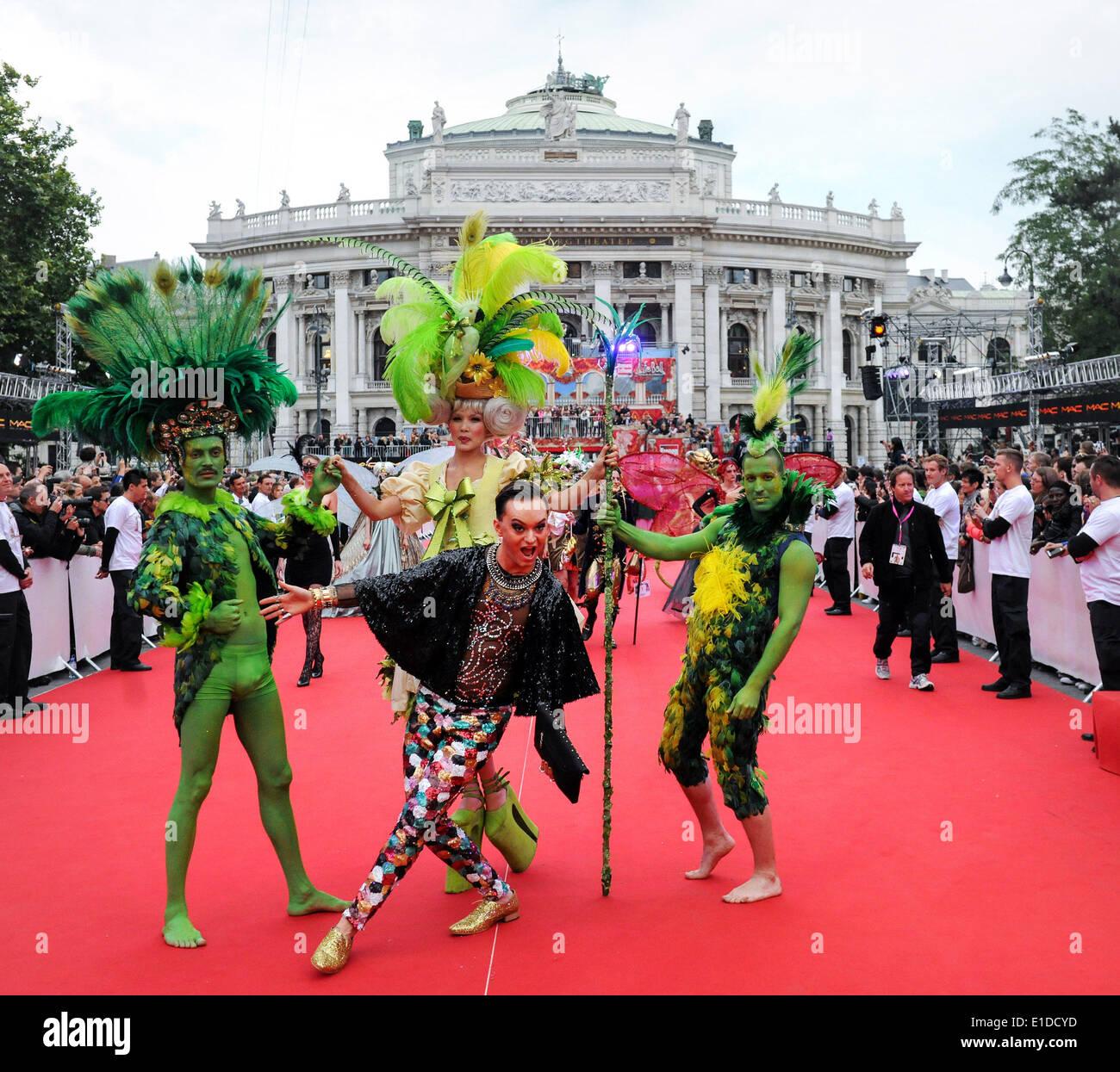 Wien, Österreich  31  Mai 2014  Deutscher Schauspieler