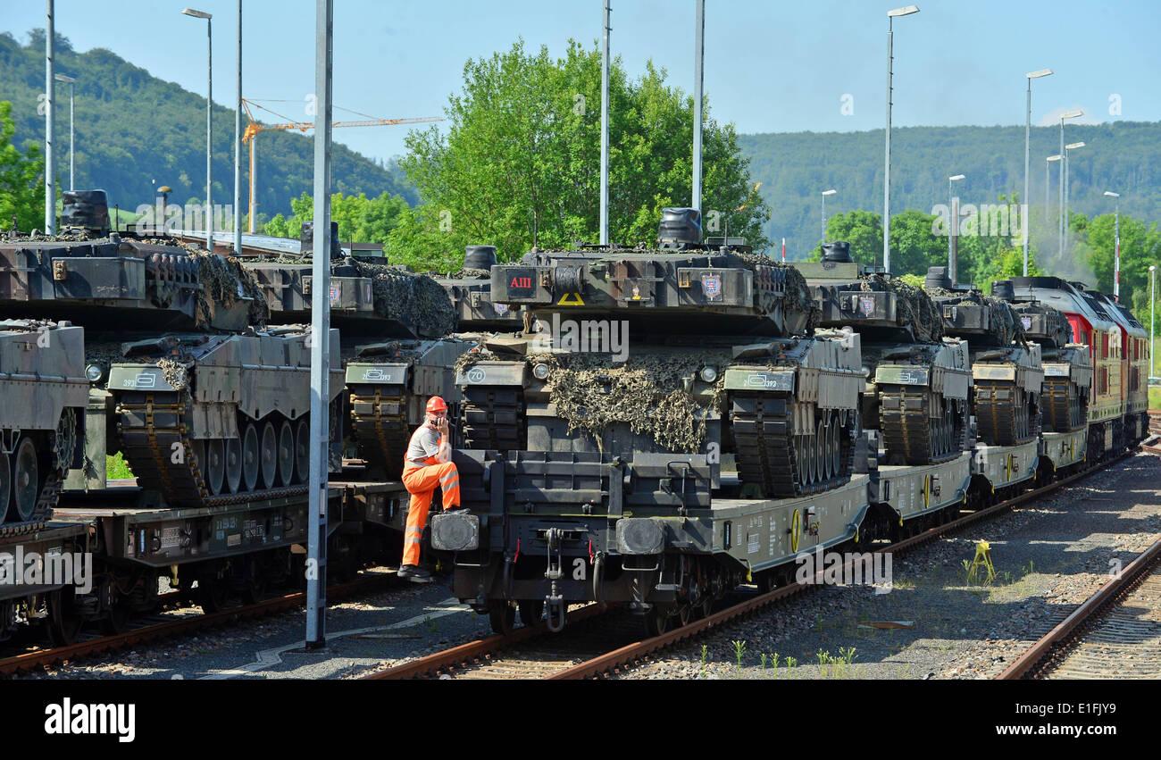 Sondershausen, Deutschland. 3. Juni 2014. Vierzehn
