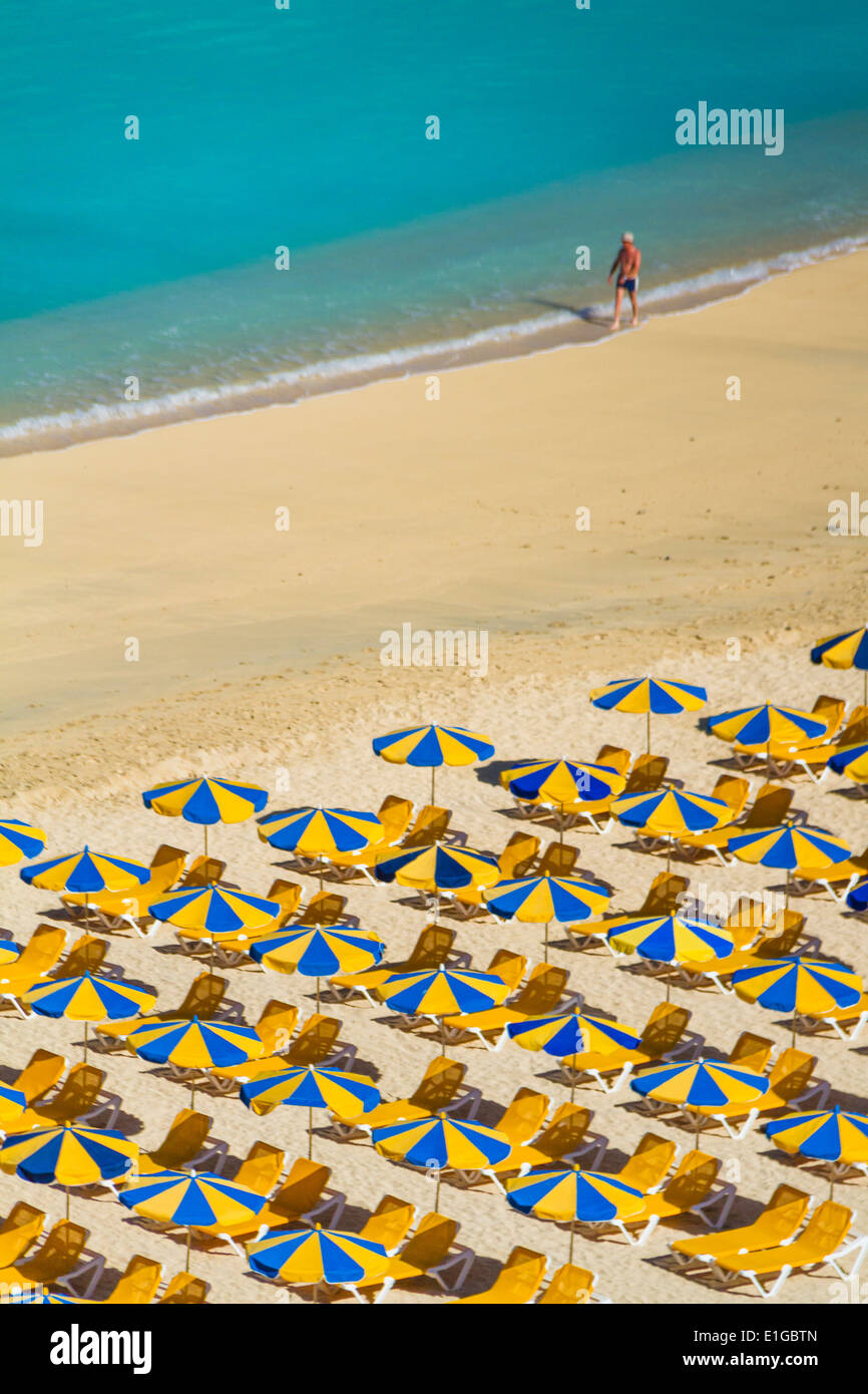 Amadores Strand auf Gran Canaria Stockbild