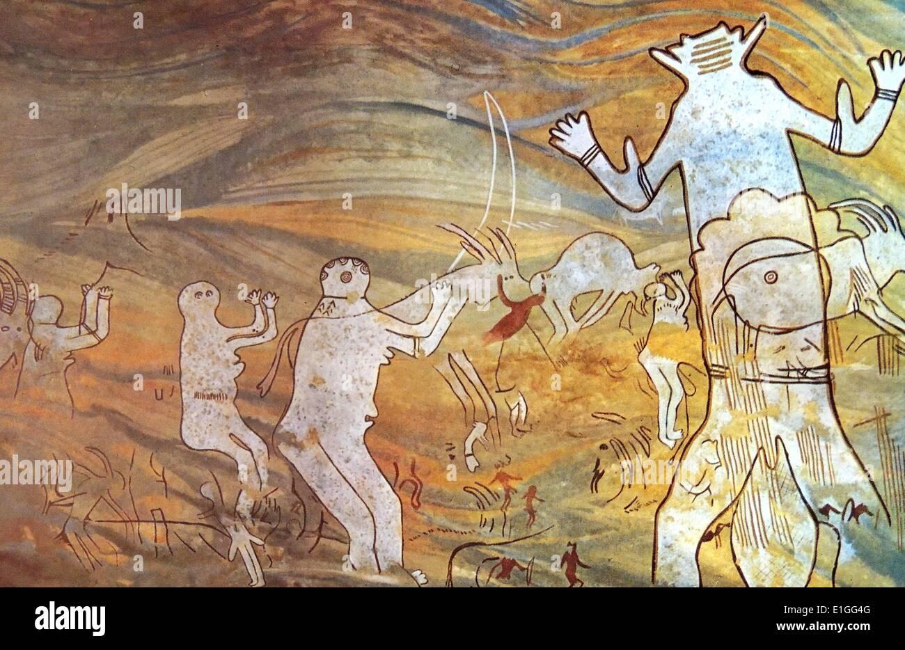 Der große Gott von Sefar Stockbild