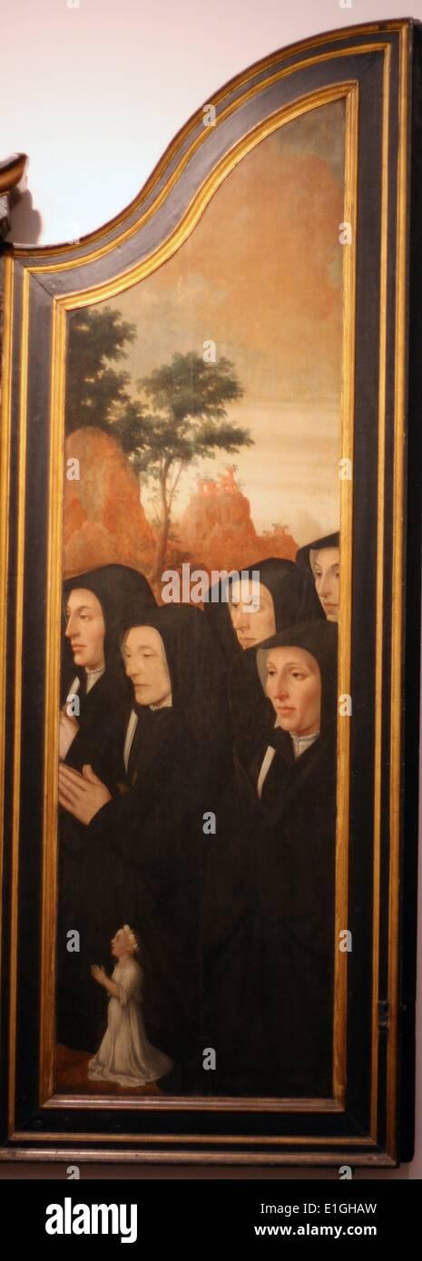 Christus erscheint der Magdalena von Jan van Scorel (1495-1562) Stockbild