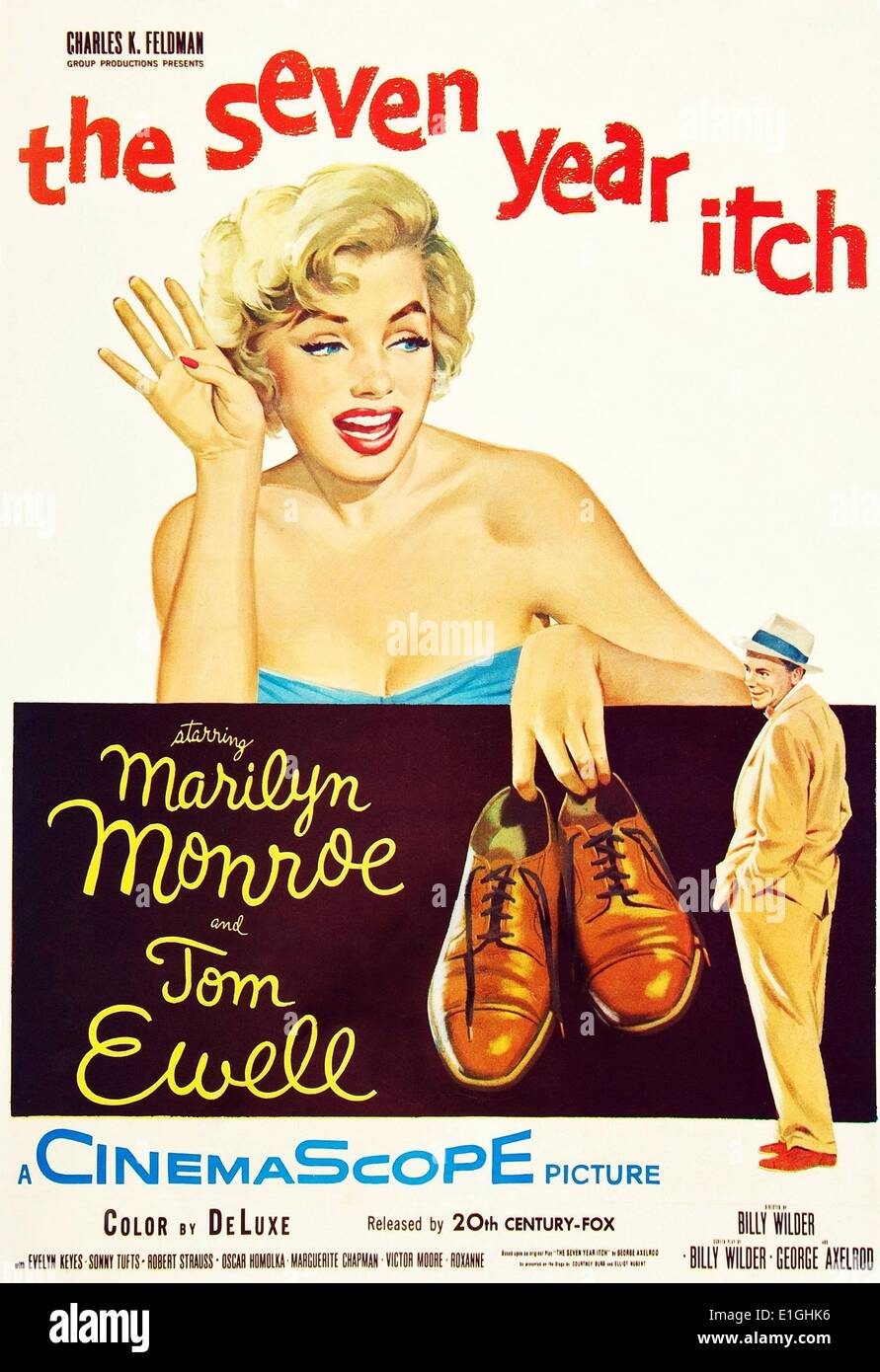 Die Seven Year Itch Eine Romantische Komödie Von 1955 American Film