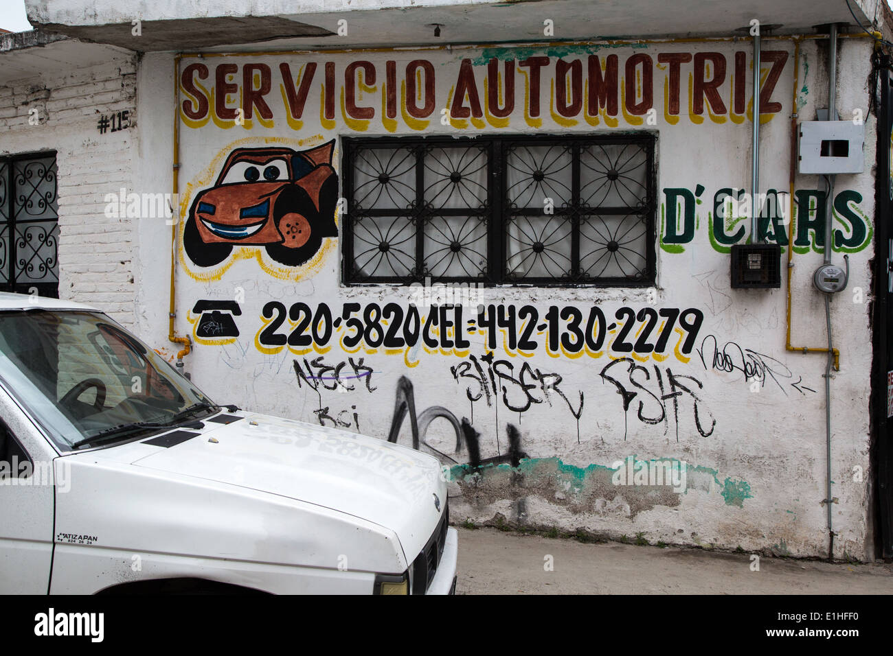 Auto Shop Kfz Mechaniker-Service Autowerkstatt unterzeichnen ...