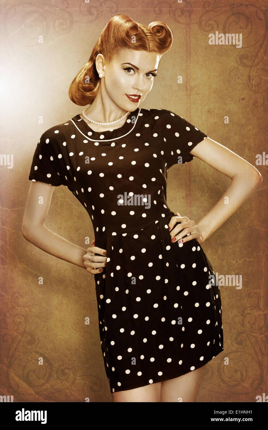 Retro 50s Fashion Stockfotos & Retro 50s Fashion Bilder Alamy