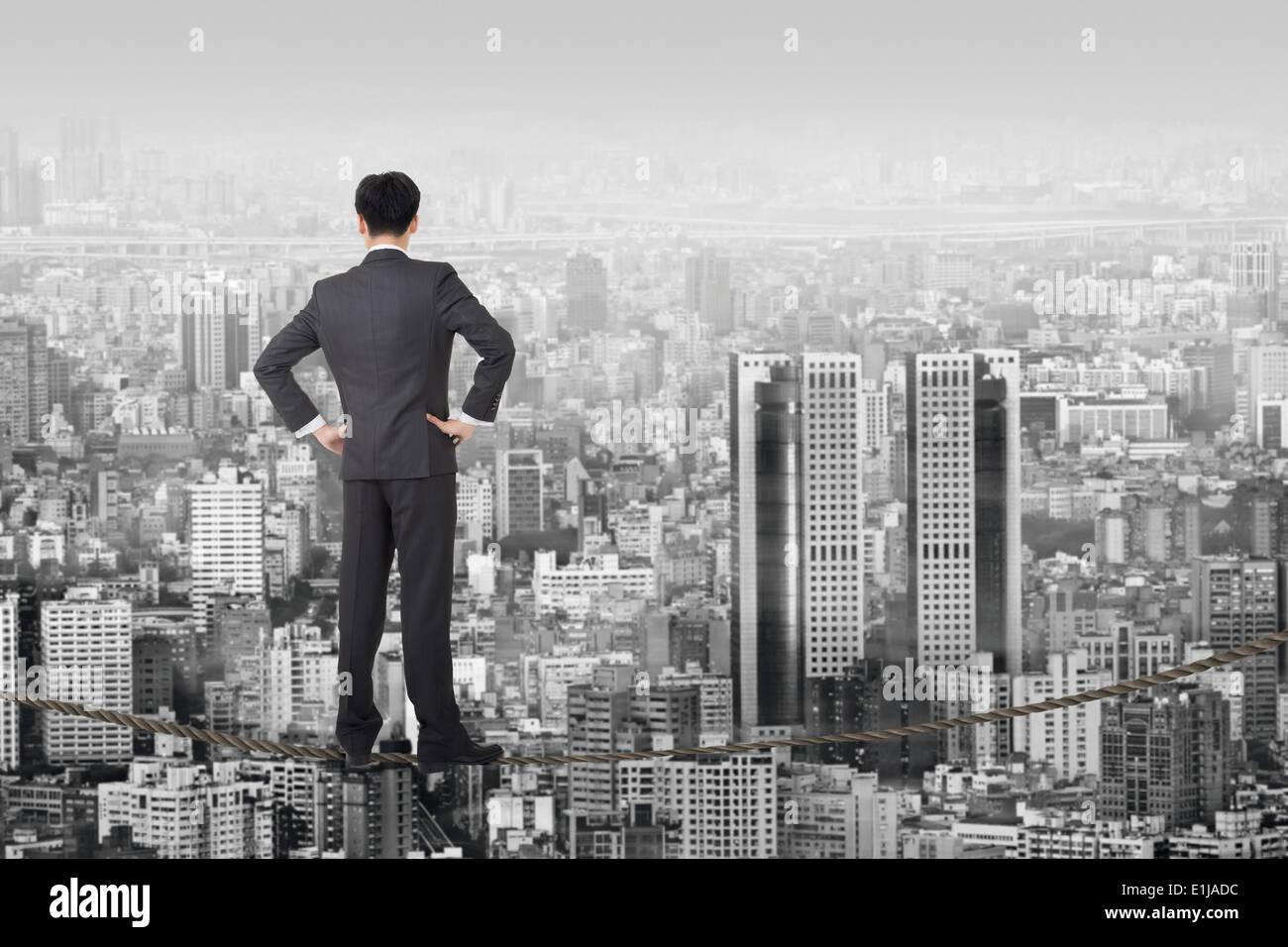 Unternehmen Zukunft Stockbild
