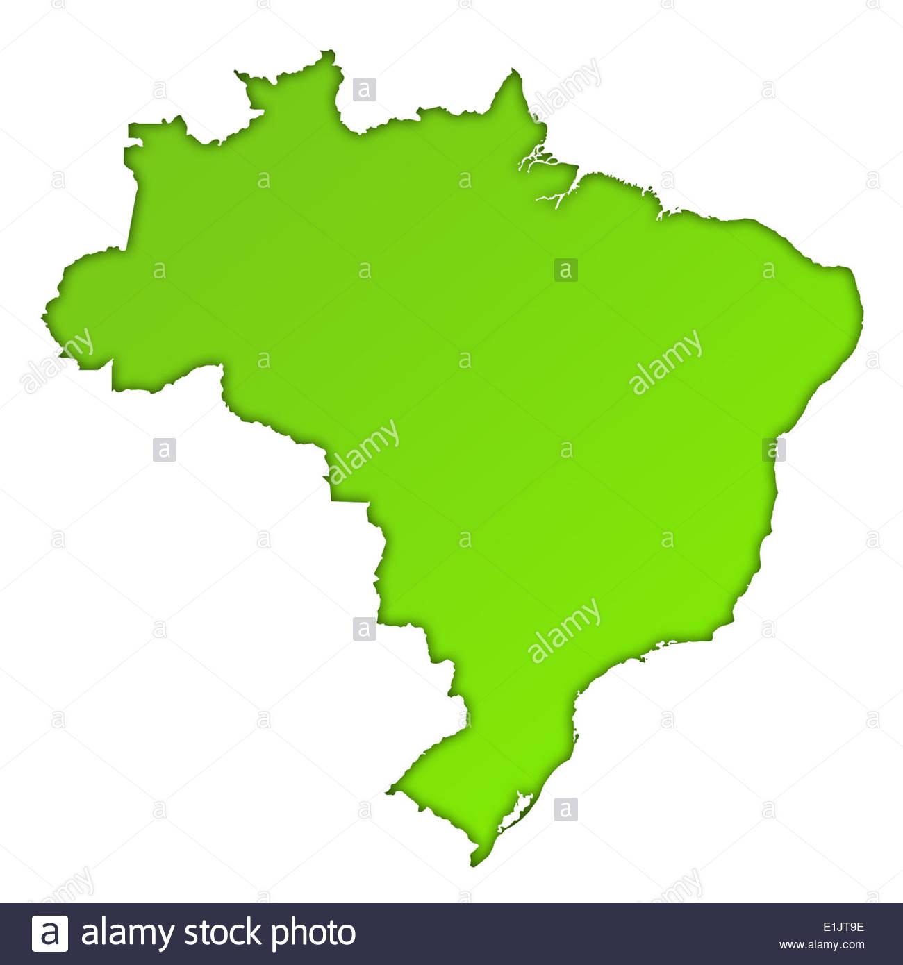 Brazil Map Stockfotos & Brazil Map Bilder - Alamy