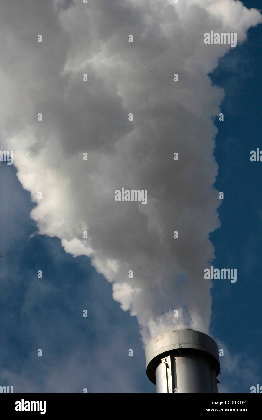 Smoke Factory Stockbild