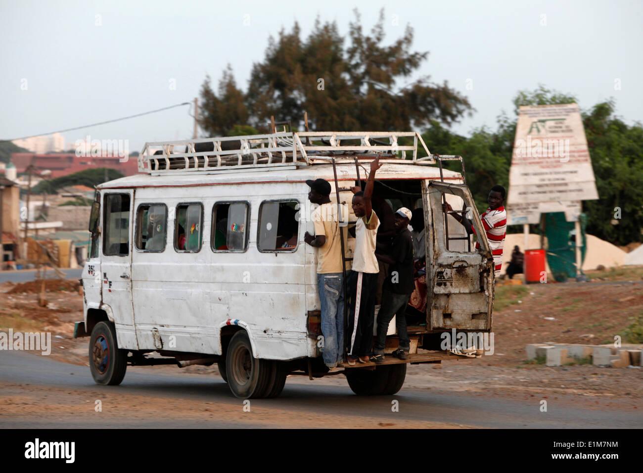 Öffentliche Verkehrsmittel Stockbild