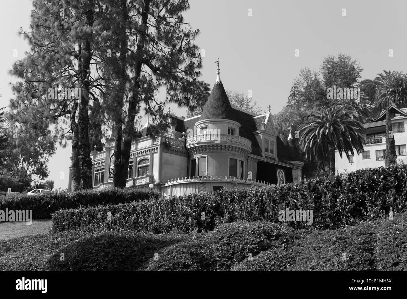 Hollywood-Akademie der magischen Künste, Magic Castle, Hollywood, CA. Stockbild
