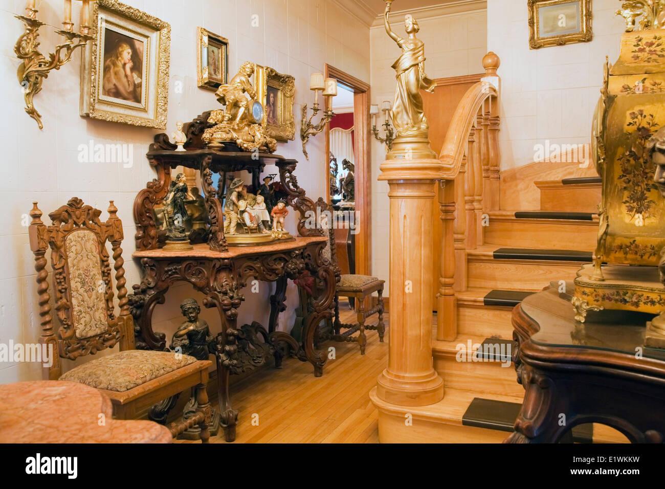 Herrenhaus Möbel antike möbel möbel schmücken einen flur in einem viktorianischen