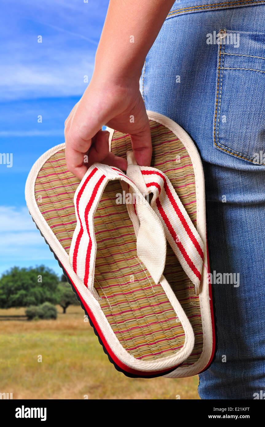 Urlaub-Start Stockfoto