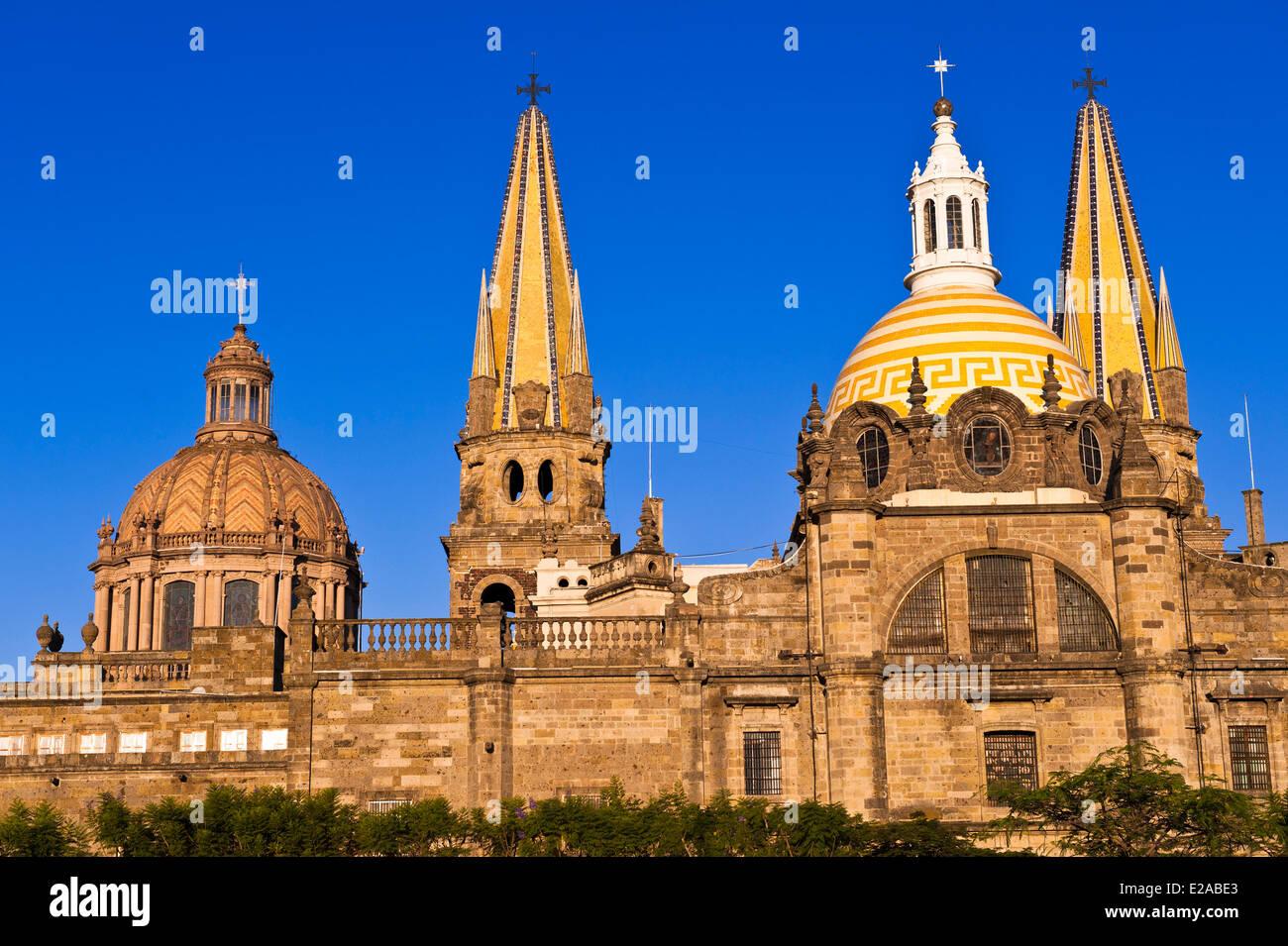 Mexico, Staat Jalisco, Guadalajara, die Kathedrale Stockbild