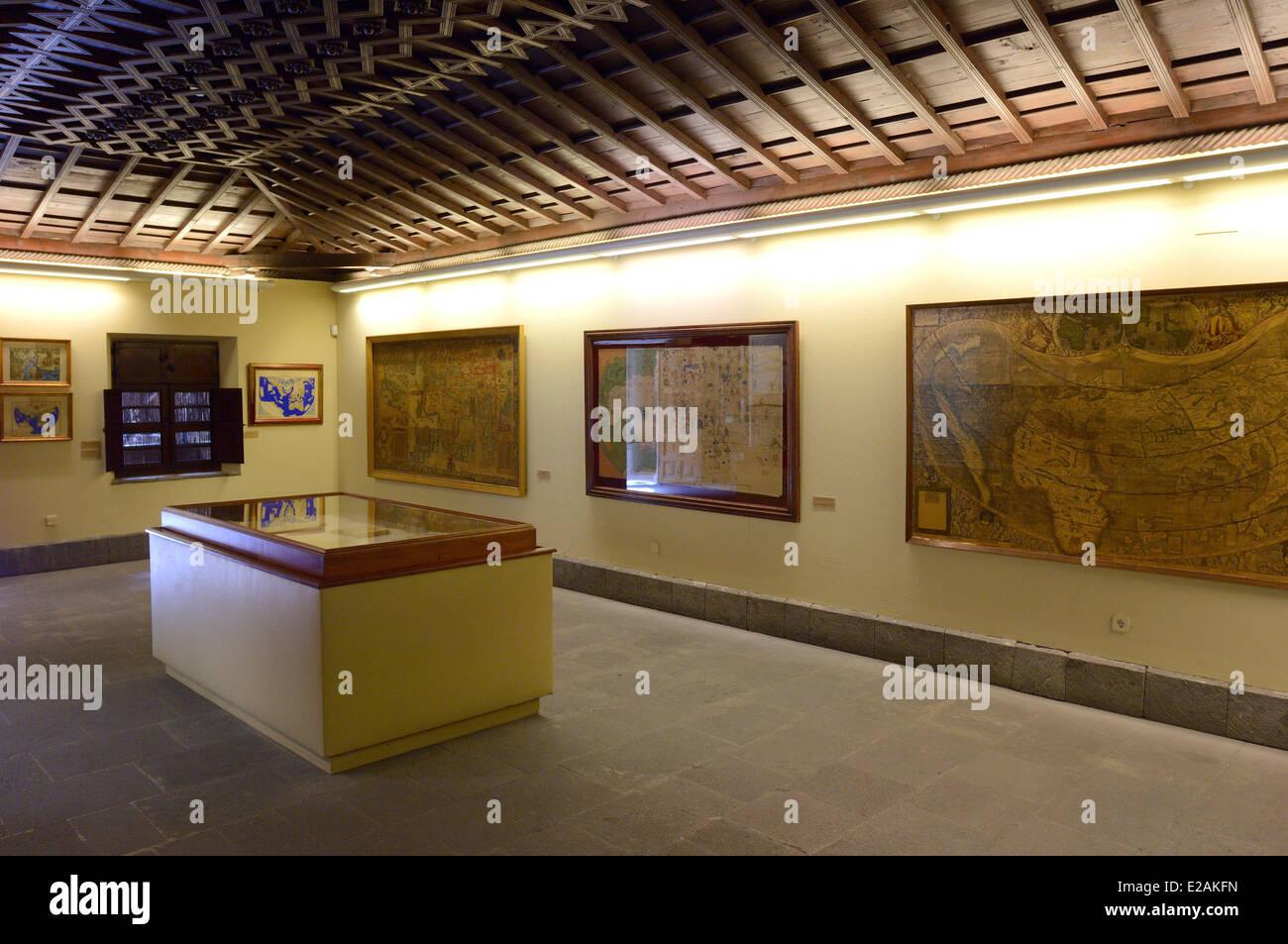 Map gran canaria stockfotos map gran canaria bilder alamy - Showroom las palmas ...