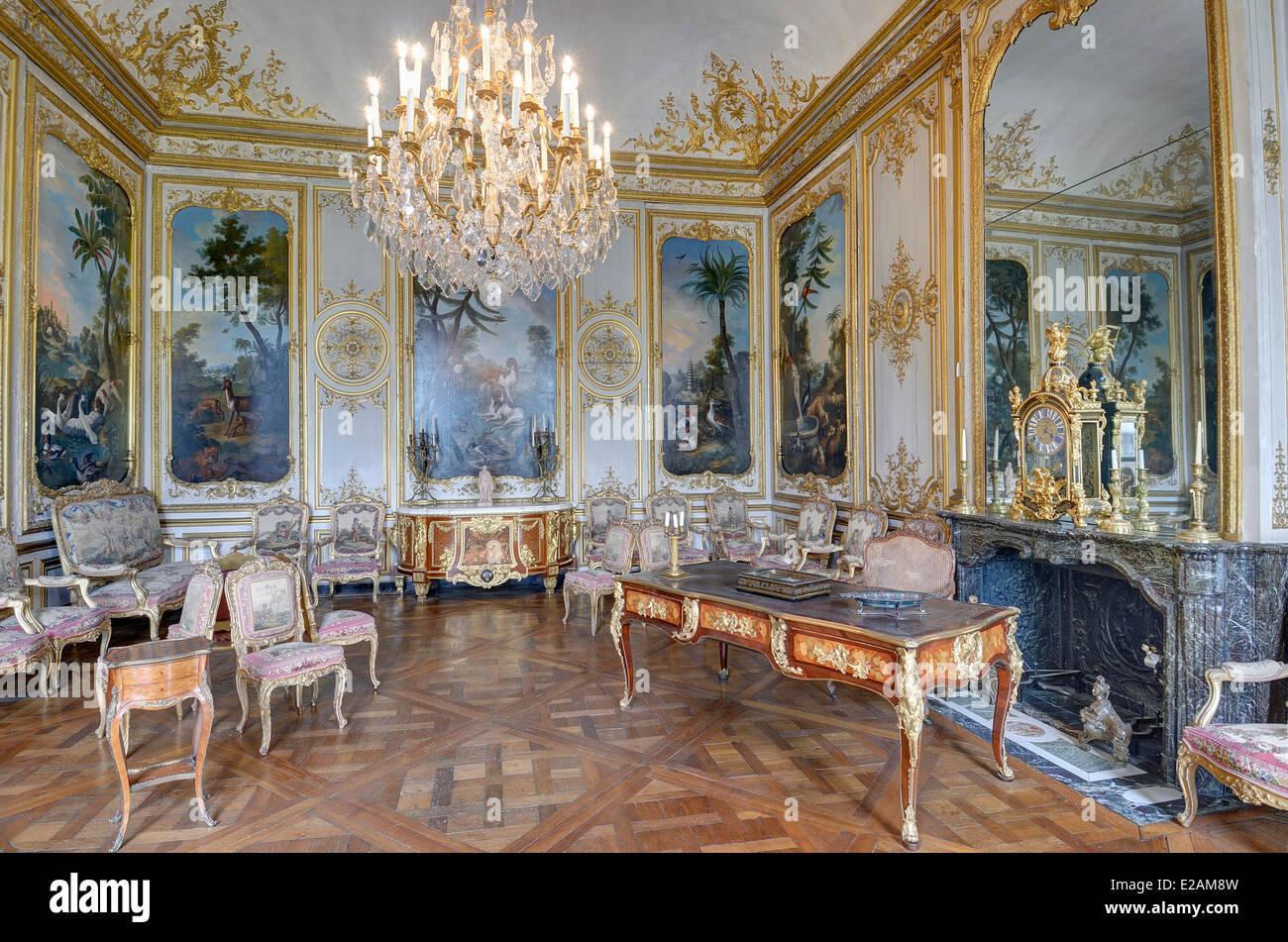 Frankreich, Oise, Schloss von Chantilly, der Prinz Schlafzimmer ...