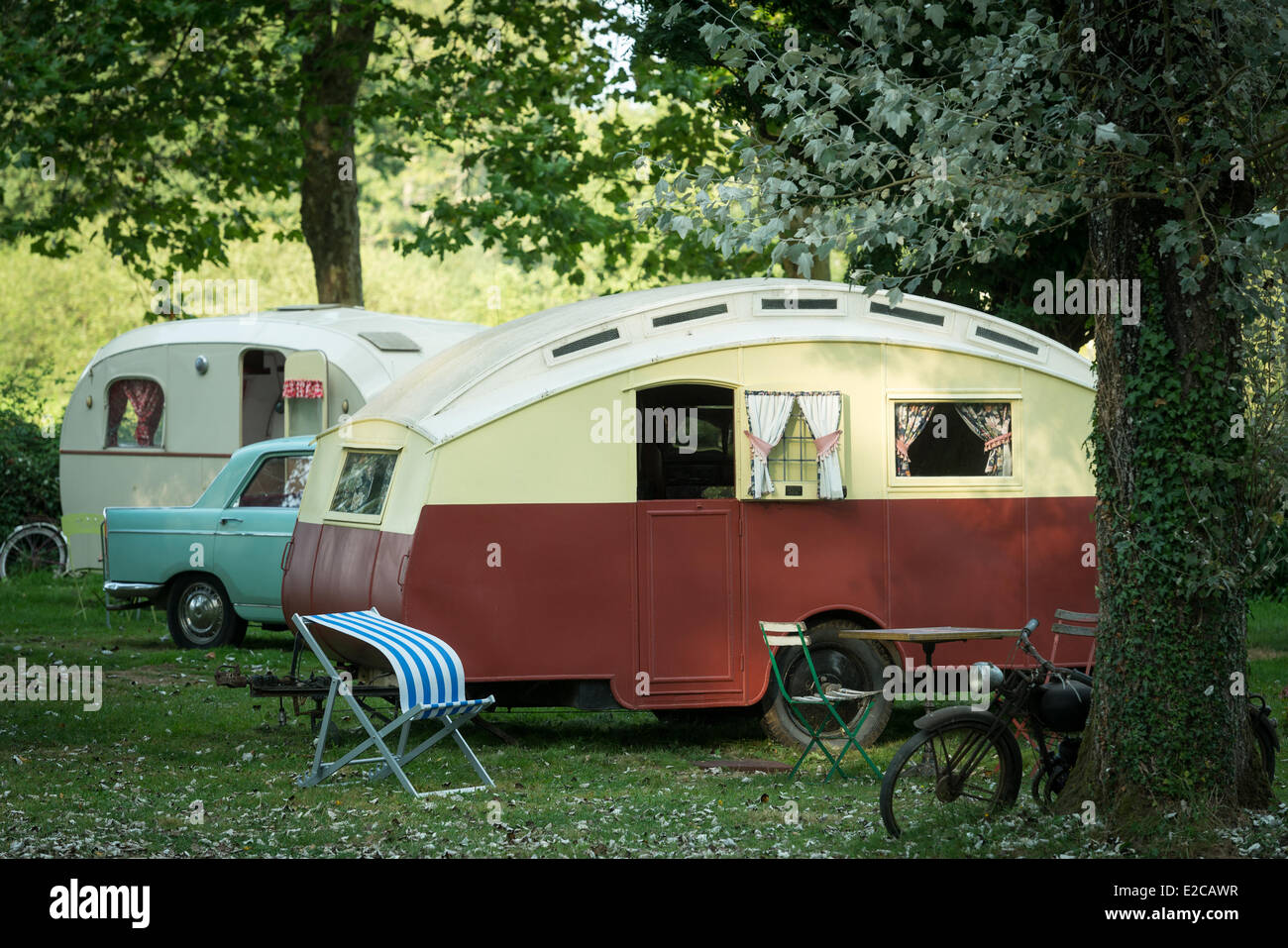 classic caravan stockfotos classic caravan bilder alamy. Black Bedroom Furniture Sets. Home Design Ideas