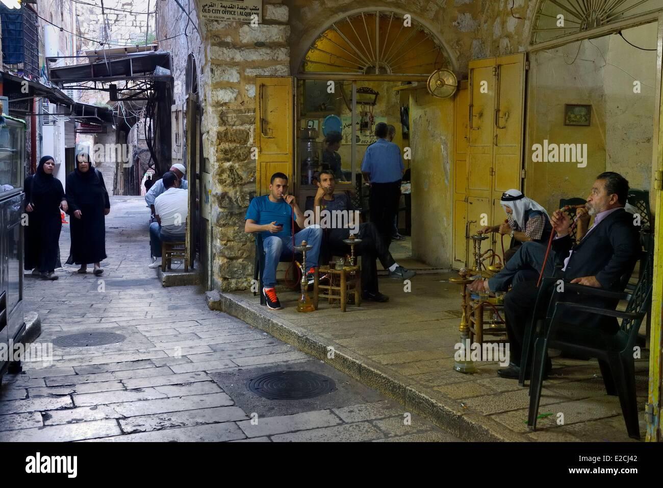 Israel, Jerusalem, heilige Stadt, die Altstadt von der UNESCO als Welterbe gelistet Stockbild