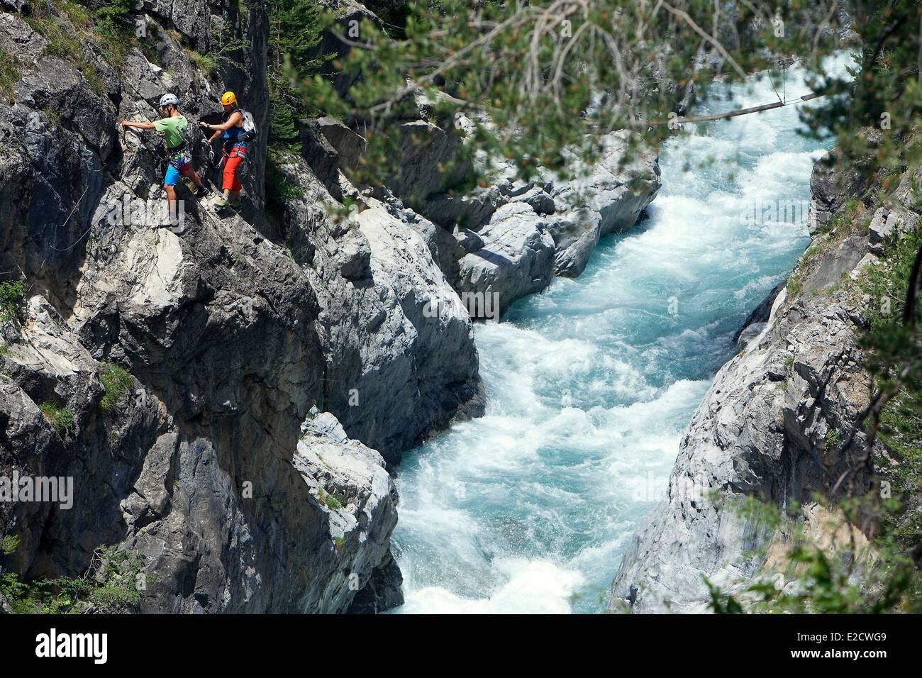 Klettersteig Chateau Queyras : Frankreich hautes alpes parc naturel regional du queyras