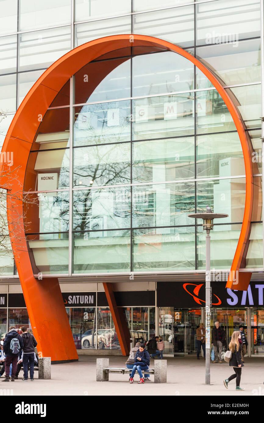 Deutschland Hamburg Mönckebergstraße Trat Die Deutsche Shop