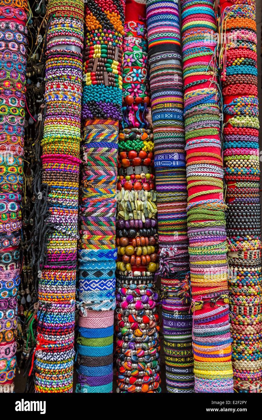 Peru, Cuzco, Armband Handwerk Stockbild