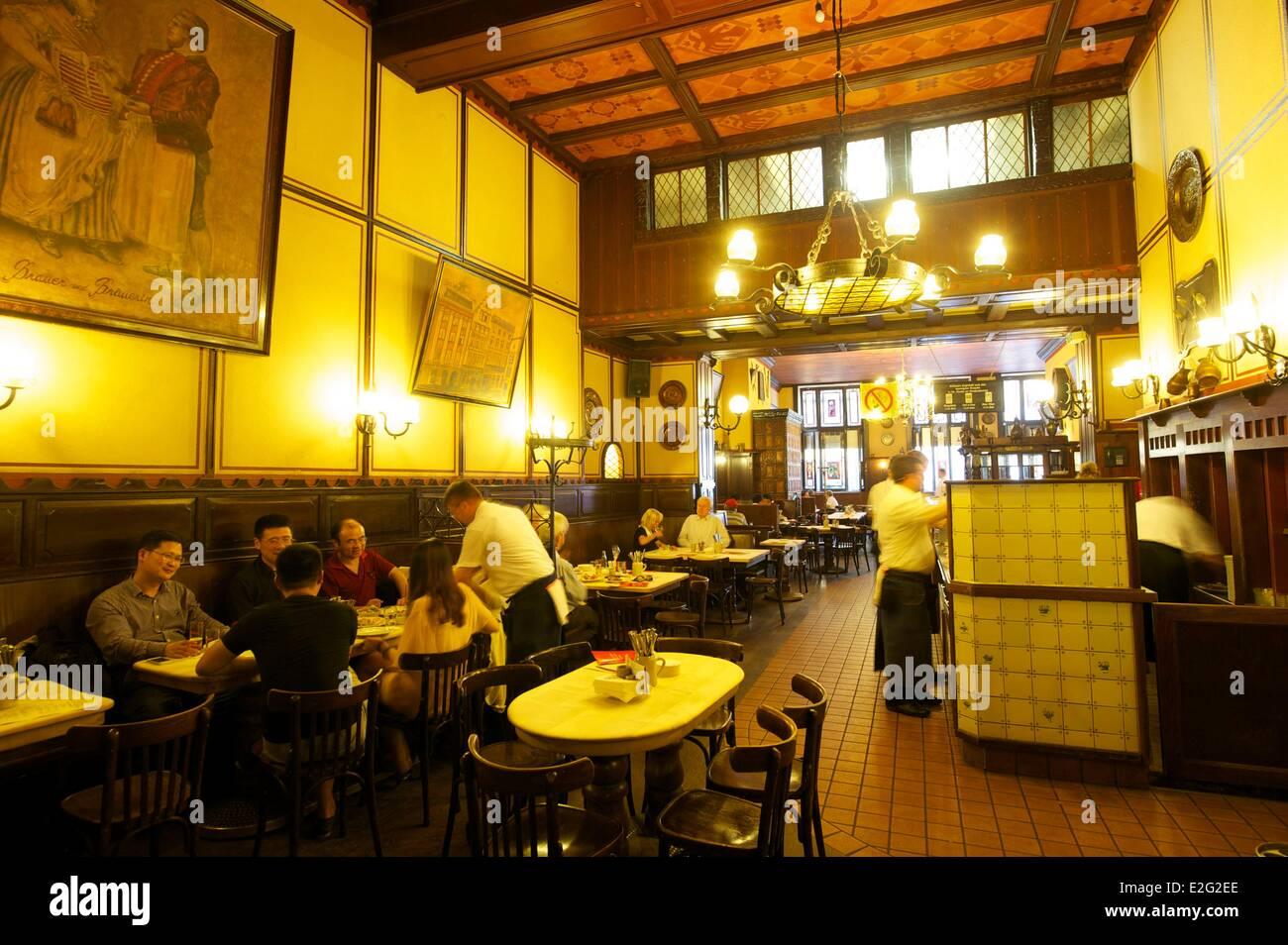 Deutschland Nord Rhein Westfalen Koln Fruh Bin Dom Restaurant