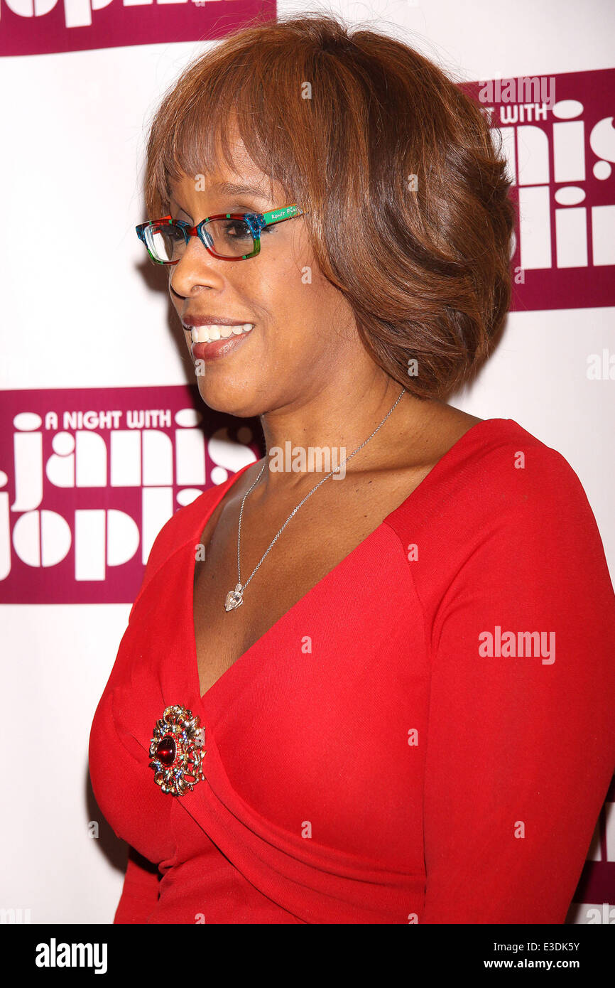Gayle King Wearing Ronit Furst Stockfotos & Gayle King Wearing Ronit ...