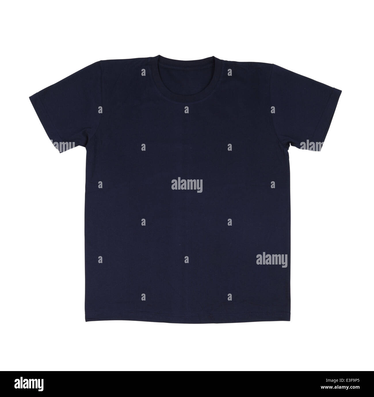 Black T Shirt Template Front Side Stockfotos & Black T Shirt ...