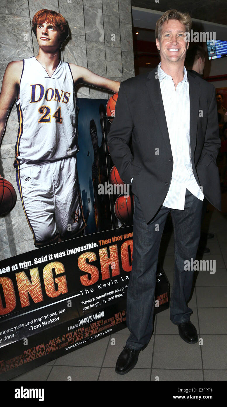 """""""Long Shot: Kevin Laue Story"""" Los Angeles Premiere - innen Featuring: Franklin Martin Where: Los Angeles, Stockbild"""