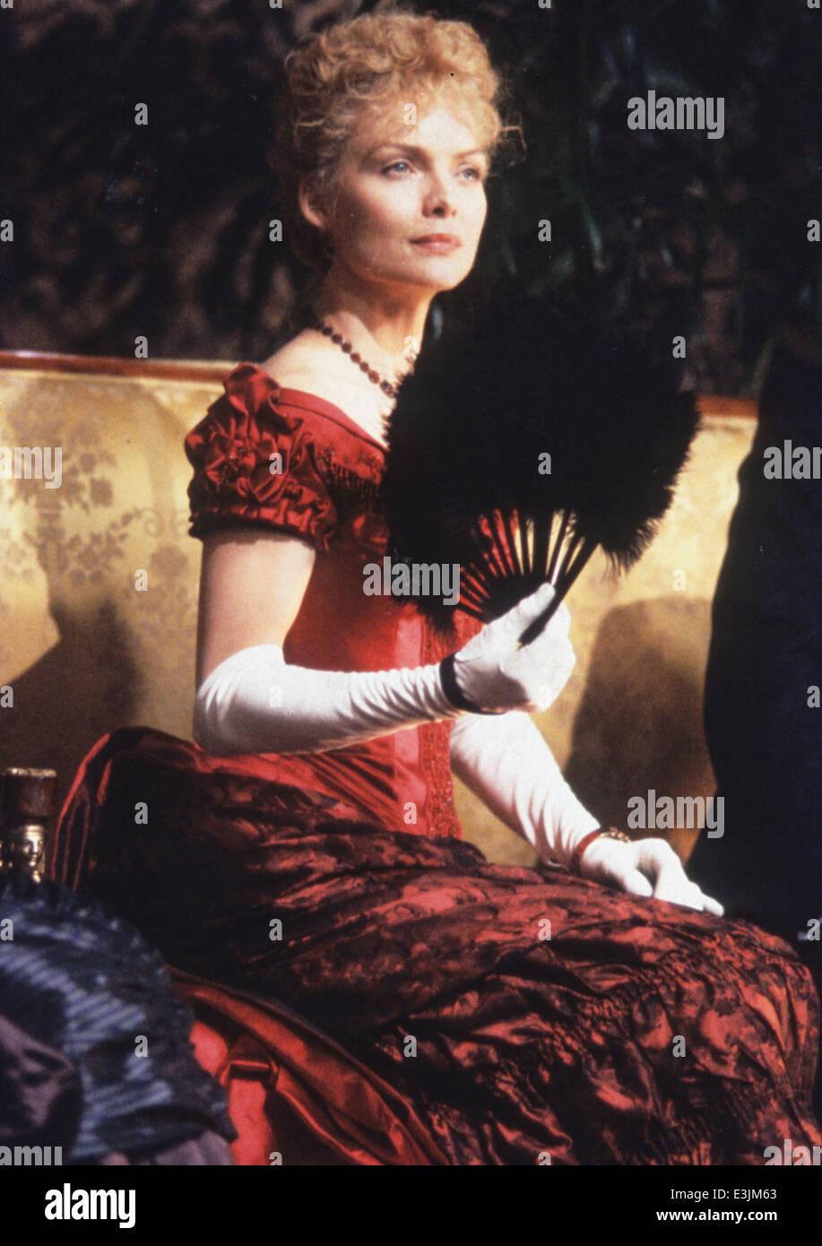 Michelle Pfeiffer, Zeit der Unschuld, 1993 Stockbild