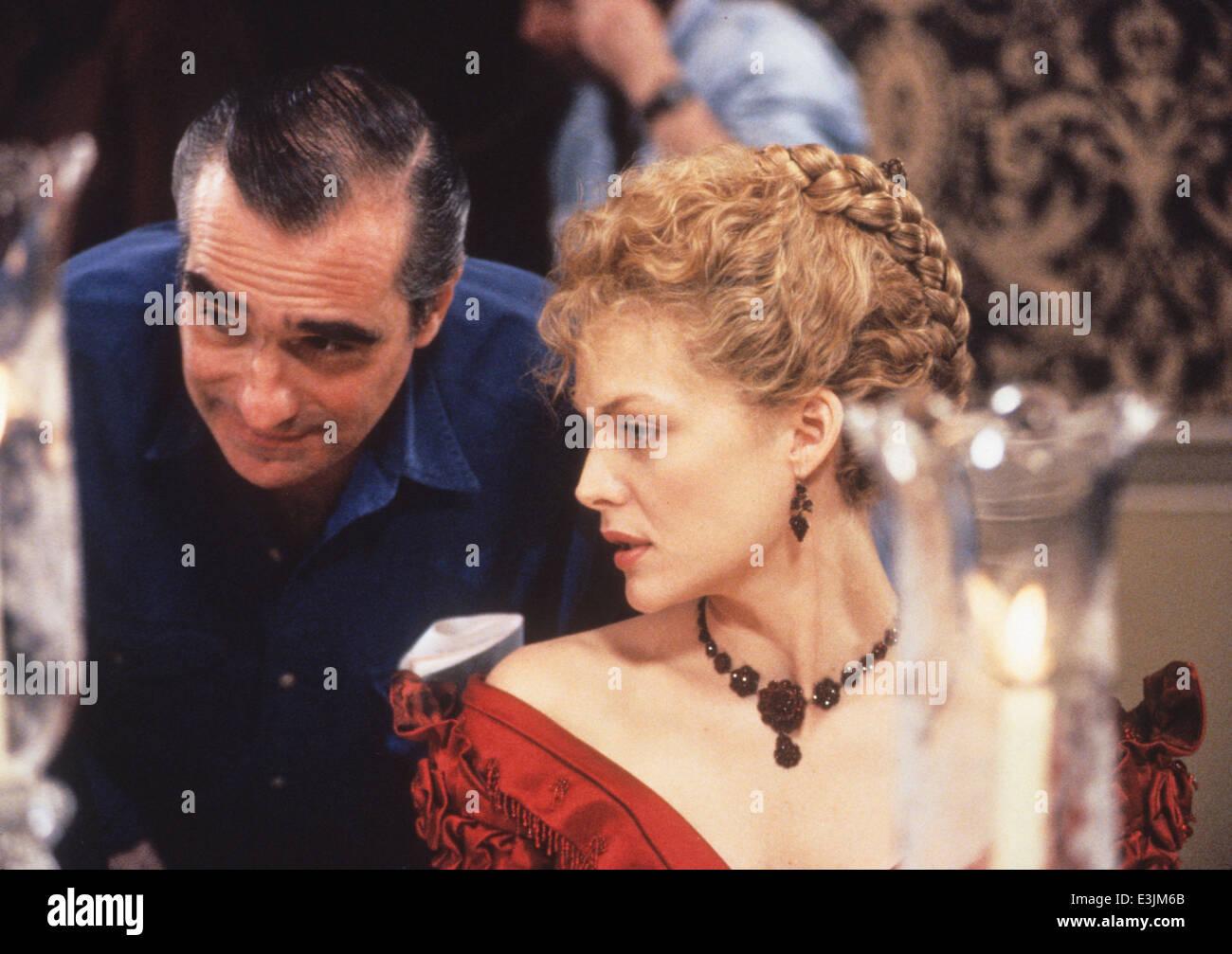 Martin Scorsese, Michelle Pfeiffer, Zeit der Unschuld, 1993 Stockbild