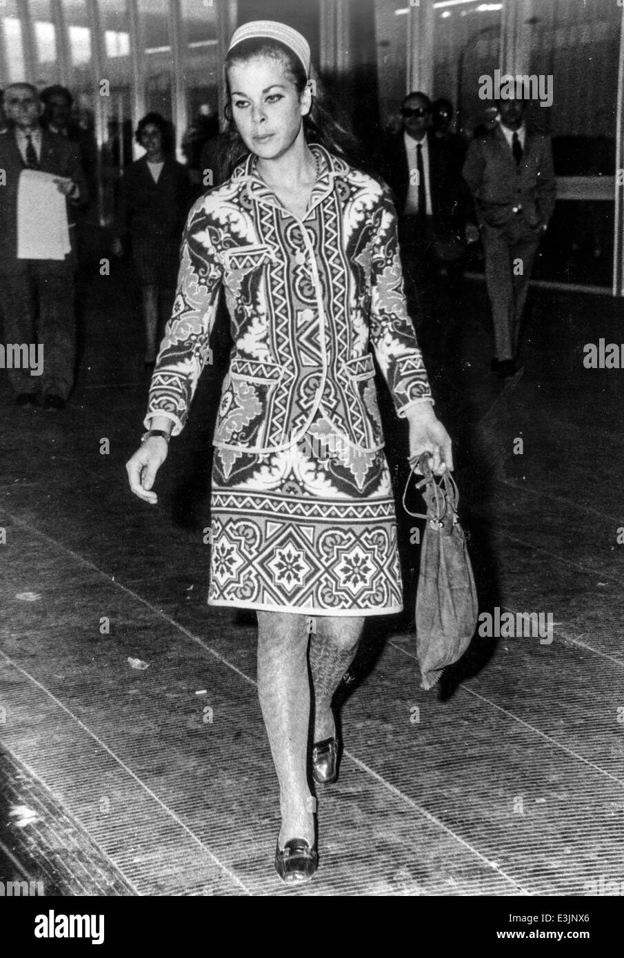 Prinzessin Maria Beatrice von Savoyen, 1967 Stockbild