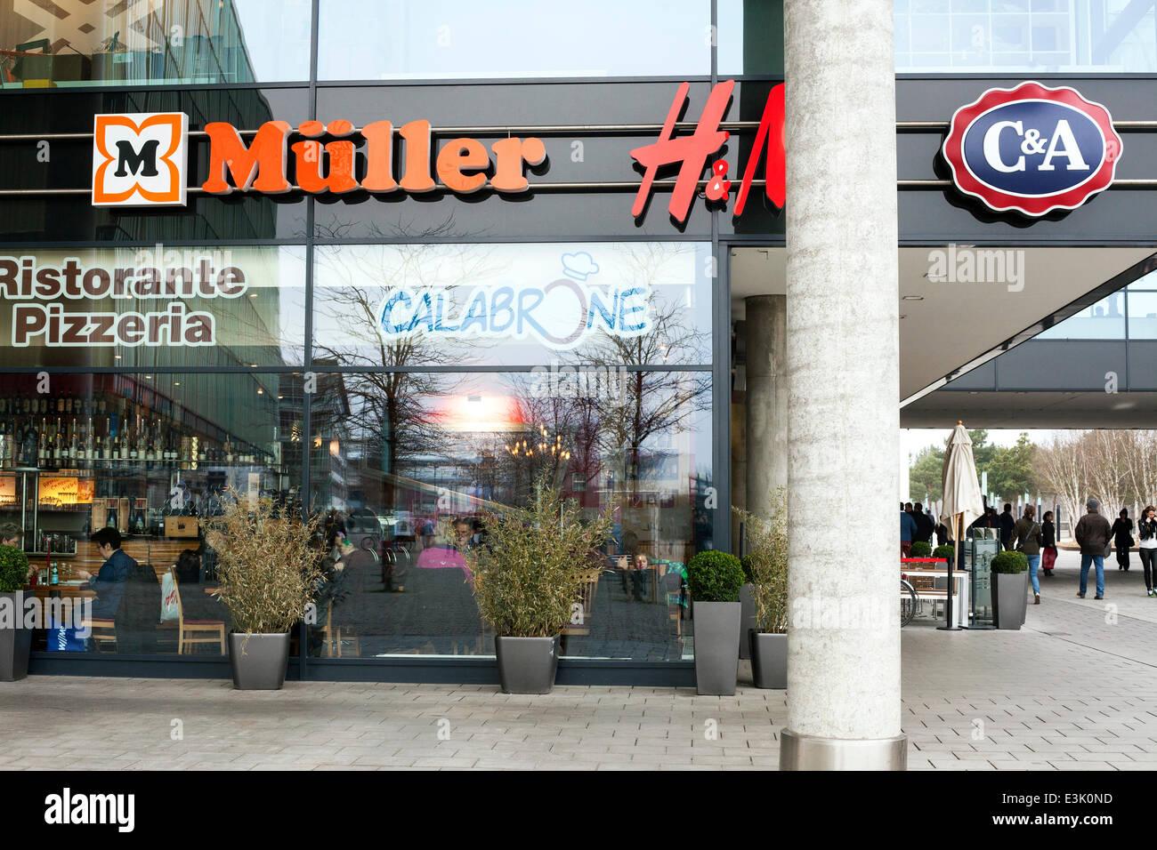 Müller H Und M C Und A C A H M Einkaufszentrum Messe