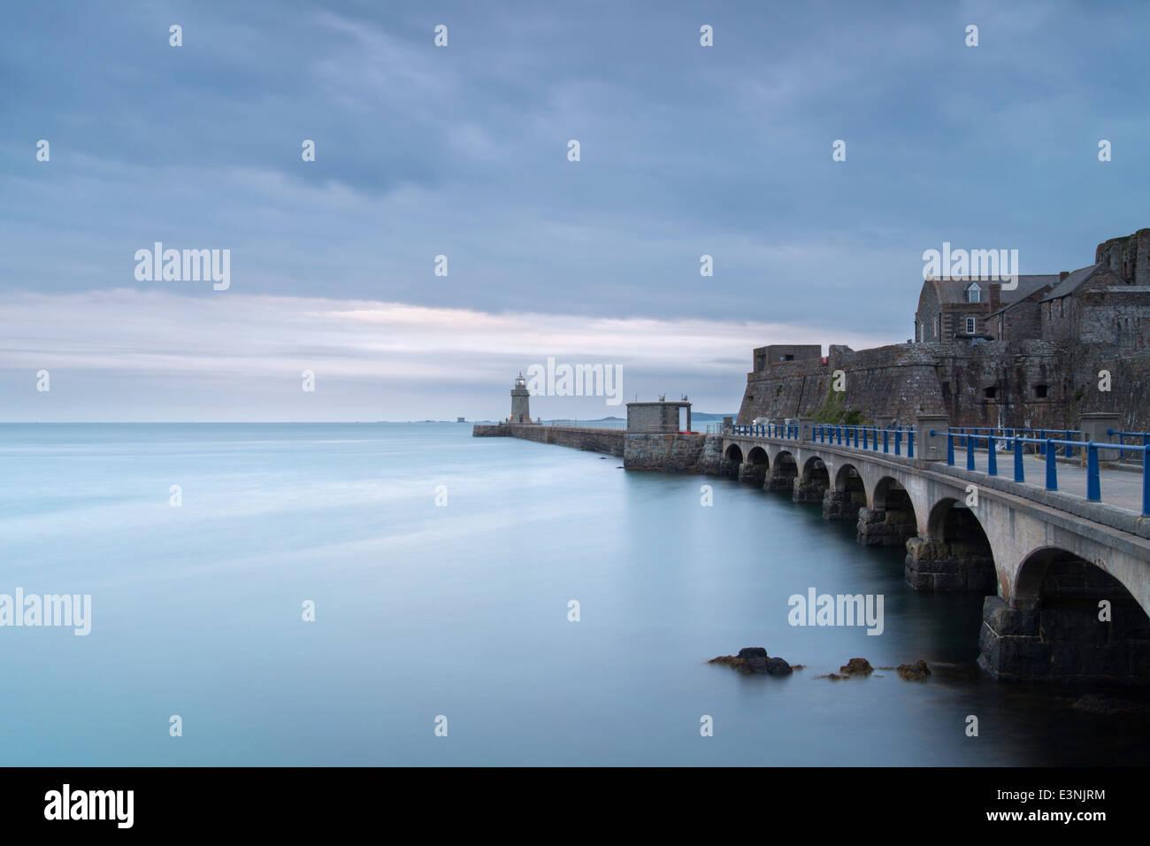 Castle Cornet St Peter Port, Guernsey Stockbild