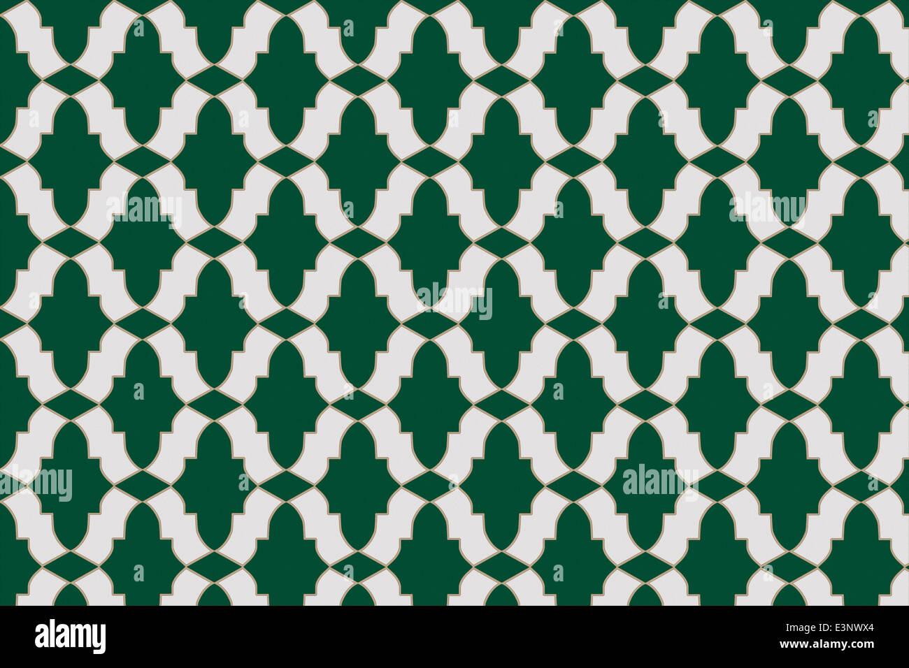 Mosaik Fliesen Mit Drei Grundlegenden Kachelformen Erstelle Ich Eine