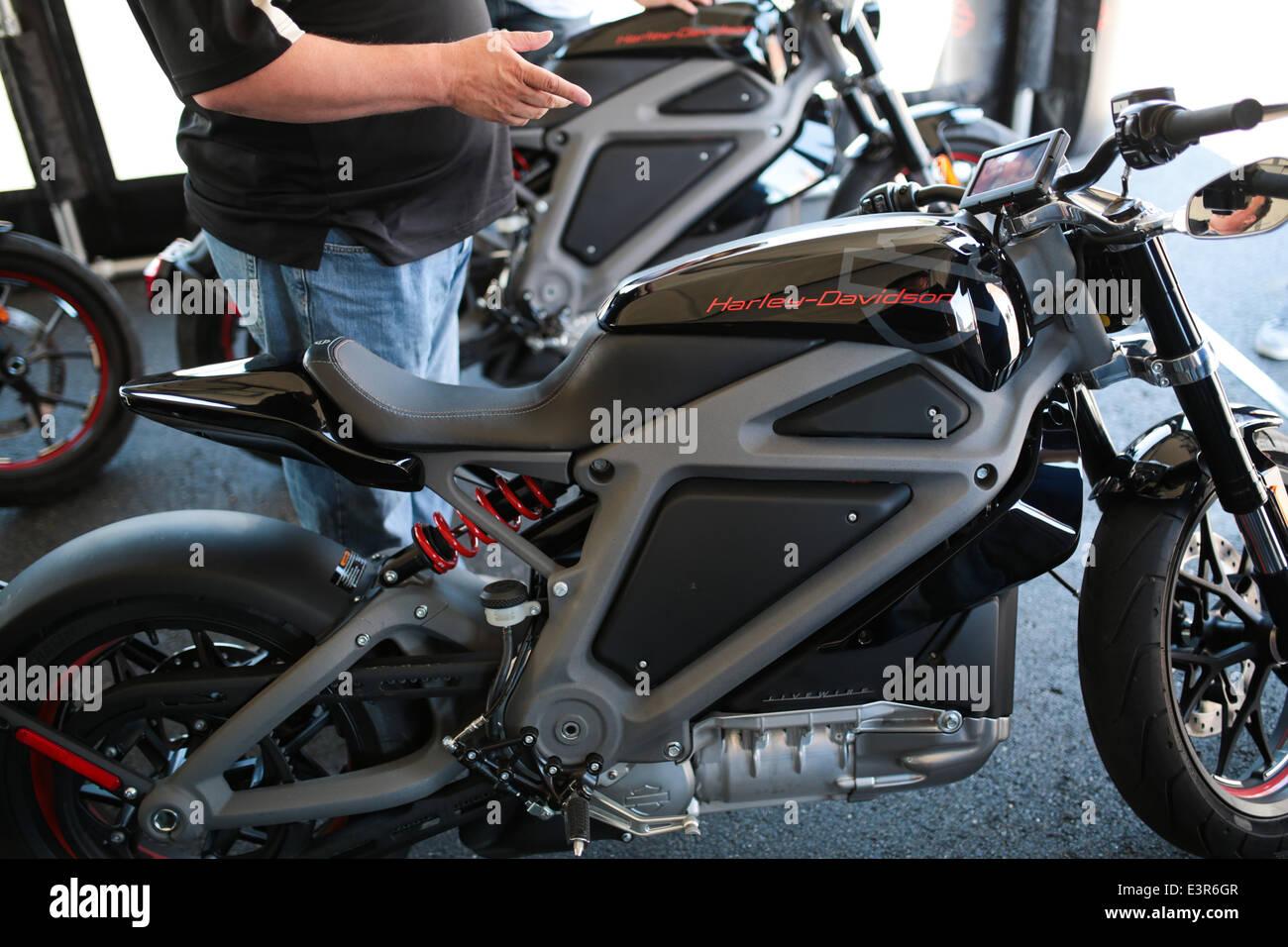 Großartig Harley Davidson Live Draht Elektro Motorrad Bilder ...