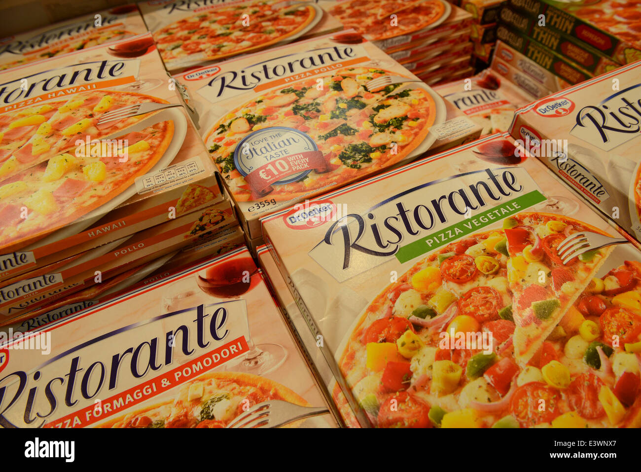 dr oetker pizza how to cook