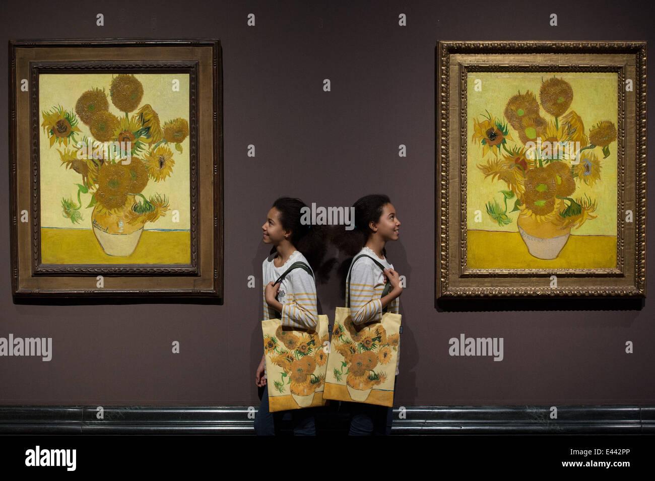 Gemütlich Sonnenblume Malvorlagen Van Gogh Fotos - Malvorlagen Von ...