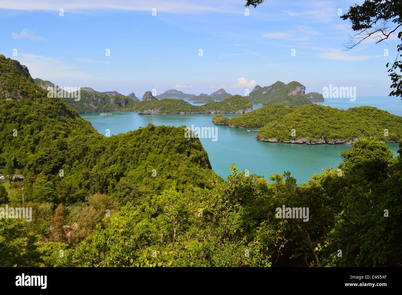 Ang Thong National Park, Thailand Stockbild