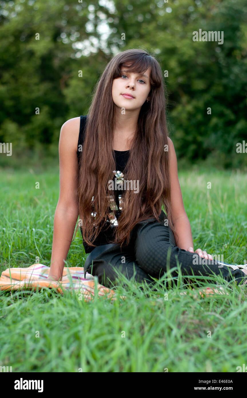 Pantiies 14 brunette teen