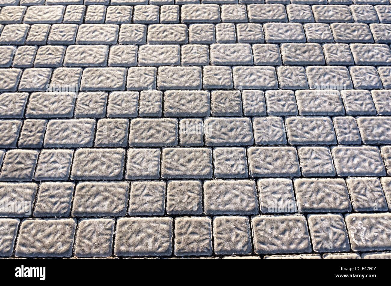 Hintergrund Mit Bodenfliesen Granit Pflastersteine Stockfoto Bild