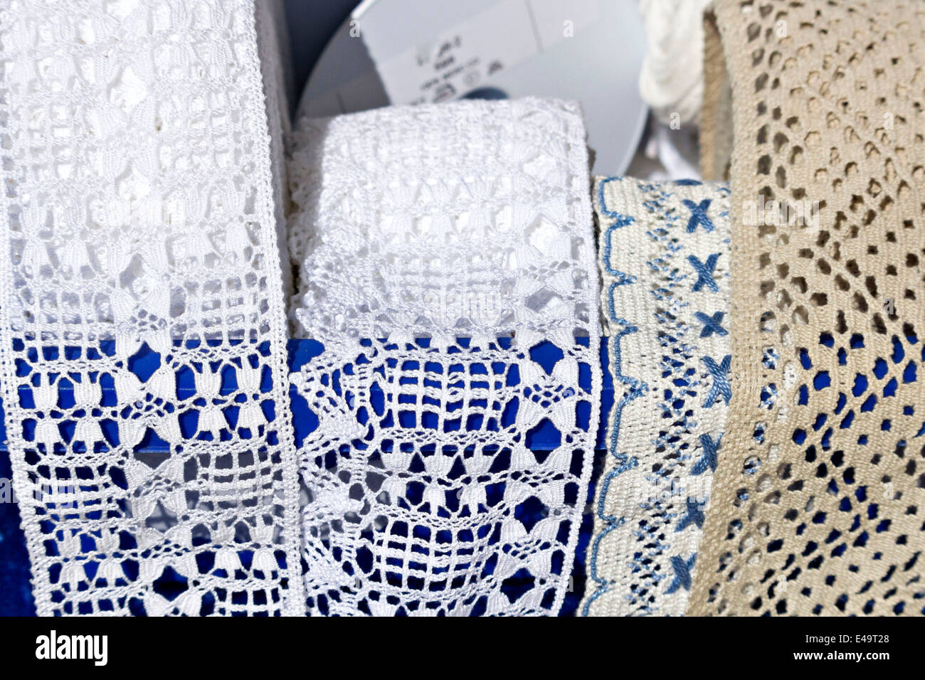 Lace Material Stockfotos & Lace Material Bilder - Alamy