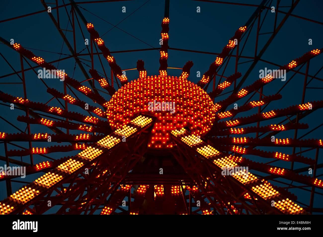 Beleuchtung Stockbild