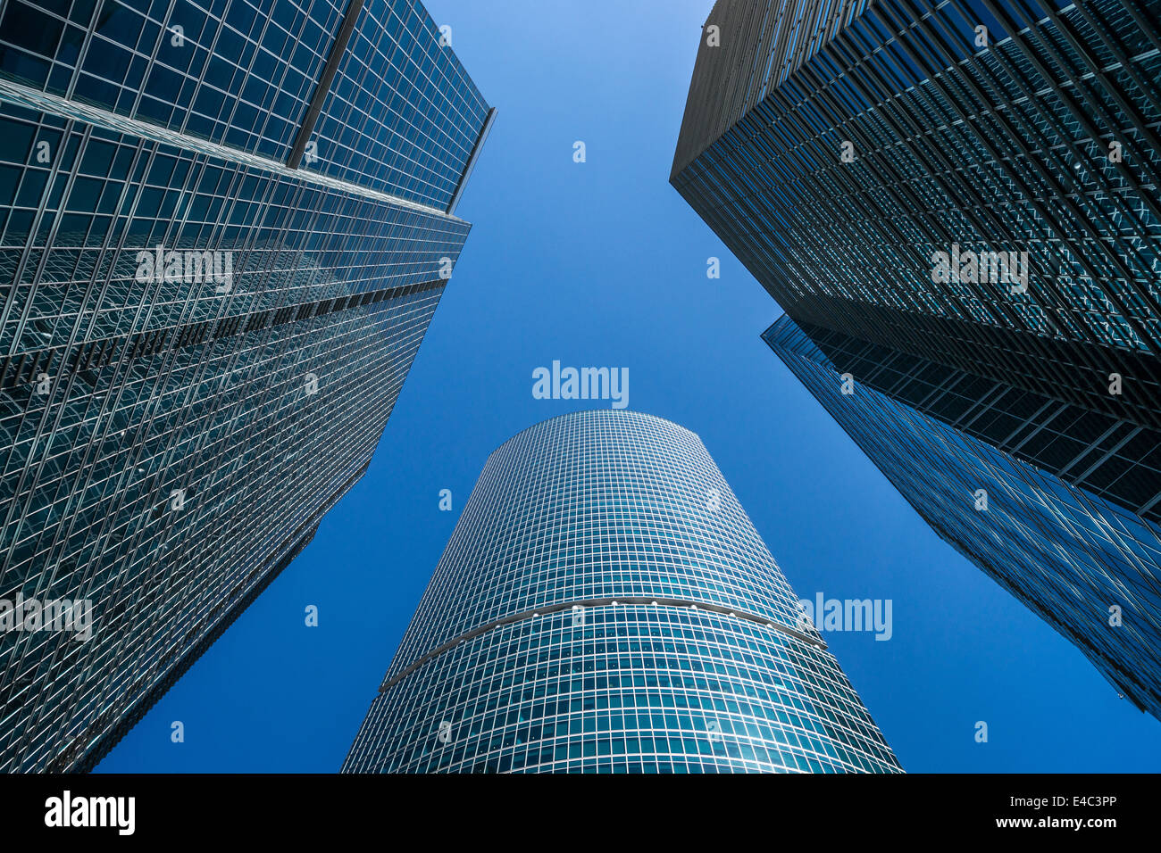 Moskau internationales Geschäftszentrum (Russland) Stockbild